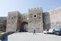 Das alte Stadt- Rabati-Schloss in Akhaltsikhe in Süd-Georgia Lizenzfreies Stockbild