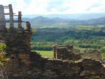 Das alte Tonina in Mexiko stockfotografie
