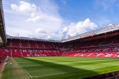 Das alte Trafford-Stadion lizenzfreie stockfotos