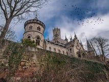 Das alte und acient Marienburg-Schloss, Deutschland Stockbild