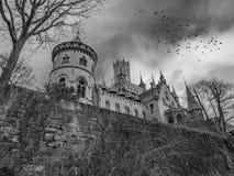 Das alte und acient Marienburg-Schloss, Deutschland Stockfotografie