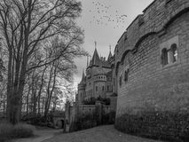 Das alte und acient Marienburg-Schloss, Deutschland Lizenzfreies Stockbild