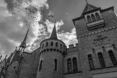 Das alte und acient Marienburg-Schloss, Deutschland Lizenzfreie Stockfotografie