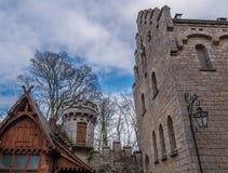 Das alte und acient Marienburg-Schloss, Deutschland Stockfotos