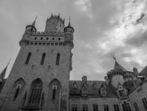 Das alte und acient Marienburg-Schloss, Deutschland Lizenzfreies Stockfoto