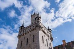 Das alte und acient Marienburg-Schloss, Deutschland Stockbilder