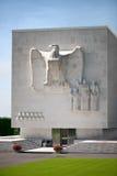 Das amerikanische Denkmal WW2 in Ardennes Lizenzfreies Stockbild