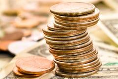 Das amerikanische Geld Lizenzfreies Stockfoto