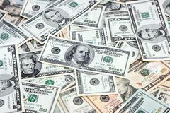 Das amerikanische Geld Stockbilder