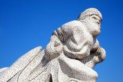 Das antarktische 100 Denkmal, Cardiff Stockfotos