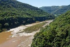 das antas robią Rio grande, sul rzeki. Obrazy Stock
