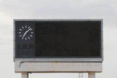 Das Anzeigetafelthailand-korat Stadion Lizenzfreies Stockfoto