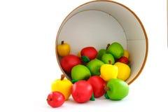 Das Apfelspielzeug Stockfotografie