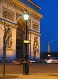 Das Arc de Triomphe Stockbilder