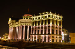 Das archäologische Museum der Republiks Mazedonien Stockfoto