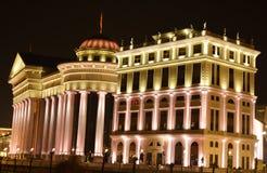 Das archäologische Museum der Republiks Mazedonien stockbild