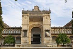 Das archäologische Museum von Sevilla Stockfotos