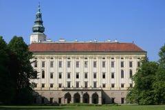 Das archiepiscopal Schloss in Kromeriz Lizenzfreies Stockfoto
