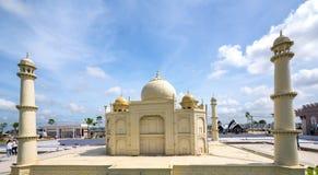 Das Architekturmodell Taj Mahals lizenzfreie stockfotografie
