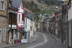 Das Ardenne am Standort La Roche in Belgien lizenzfreie stockfotos