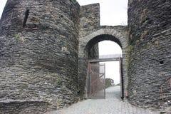 Das Ardenne am Standort La Roche in Belgien stockfoto