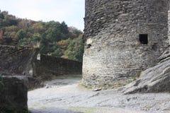 Das Ardenne am Standort La Roche in Belgien stockbild