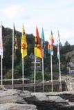 Das Ardenne am Standort La Roche in Belgien lizenzfreies stockbild