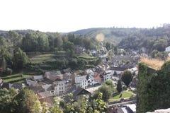 Das Ardenne am Standort La Roche in Belgien stockbilder