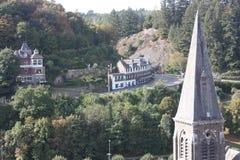 Das Ardenne am Standort La Roche in Belgien lizenzfreie stockfotografie