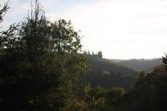 Das Ardenne am Standort La Roche in Belgien lizenzfreies stockfoto
