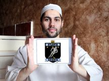 Das Atlanta adelt Eishockey-team-Logo Stockbilder