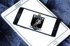 Das Atlanta adelt Eishockey-team-Logo Stockbild