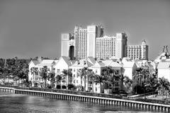 Das Atlantis-Paradies-Inselresort, gelegen in den Bahamas Stockfoto