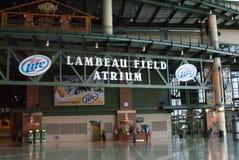 Das Atrium an Lambeau-Feld Lizenzfreies Stockbild