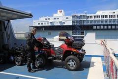 Das ATV Lizenzfreies Stockbild