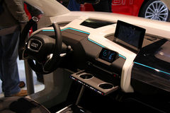 Das Audi-Auto Lizenzfreies Stockbild
