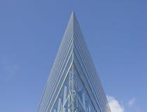 Das aufbauende Stadttor von Dusseldorf in Deutschland Stockbild