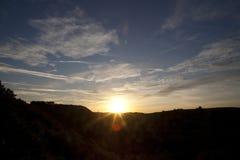 Das Aufflackern des Sun Lizenzfreies Stockbild