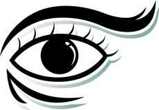 Das Auge lizenzfreies stockbild