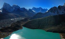 Das Auge des Himalajas Stockfotografie