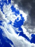 Das Auge des Himmels Stockfoto
