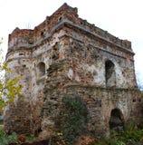 Turm des Schlosses wenn Ostrog Ukraine Lizenzfreies Stockfoto