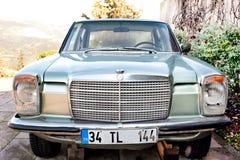 Das Auto des dritten Präsidenten von der Türkei stockfotos