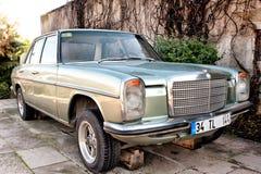 Das Auto des dritten Präsidenten von der Türkei stockbilder