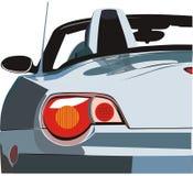 Das Auto ein Cabriolet Stockfotografie