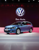 Das auto new golf touring sedan Royalty Free Stock Photo