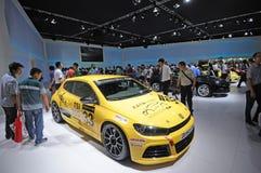Das auto pavilion Royalty Free Stock Photo