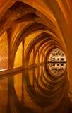 Das Bad der Alcazar-Königin, Sevilla, Andalusien Stockfoto
