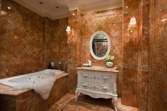 Das Badezimmer Stockbild