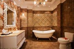 Das Badezimmer Lizenzfreie Stockfotos